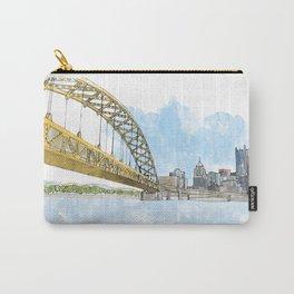 Fort Pitt Bridge Carry-All Pouch