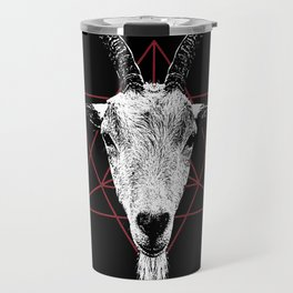Satanic Goat | Occult Art Travel Mug