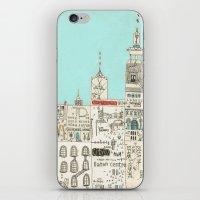 toronto iPhone & iPod Skins featuring Toronto by Nayoun Kim