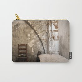 A cell in La Conciergerie de Paris Carry-All Pouch