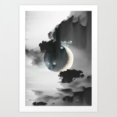 Cloud Falls Art Print