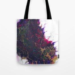 Purple Virus Tote Bag