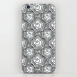 'I Love You Umlaut' Valentine's Pattern iPhone Skin