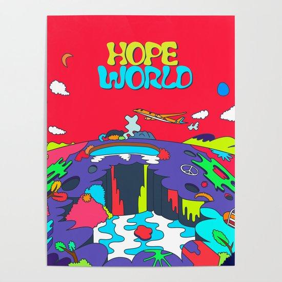 JHope Hope World Album Art Poster By Imgoodimdone