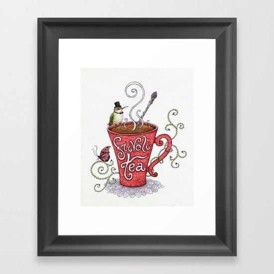 Frivoli-Tea Framed Art Print