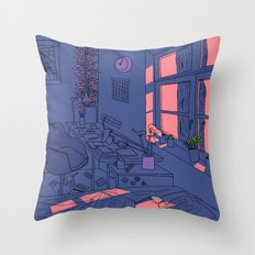 Lazy Day Throw Pillow