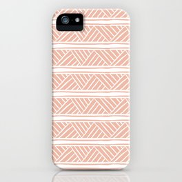 Millennial Mudcloth iPhone Case