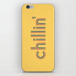 Chillin' iPhone Skin