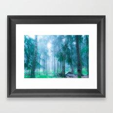 Far from roads... Framed Art Print