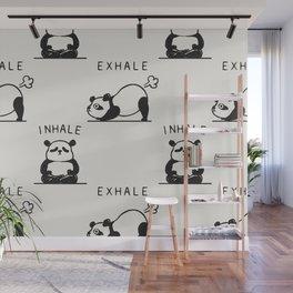 Inhale Exhale Panda Wall Mural