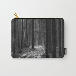 Winter pine forest Carry-All Pouch
