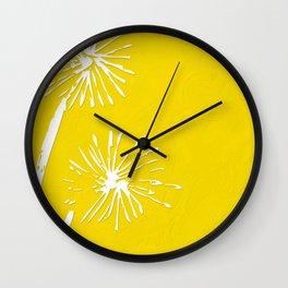 Dandelion Duo Wall Clock