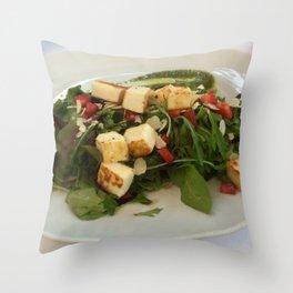 Summer Salad Throw Pillow