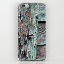 Green Barn Nails iPhone Skin