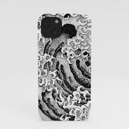 HATCH vs Hokusai: Wave (Masculine) iPhone Case