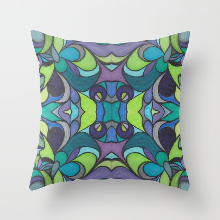 For K & D with Love Throw Pillow