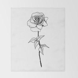Lady Rose Throw Blanket