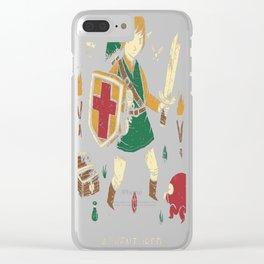 adventurer Clear iPhone Case
