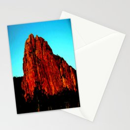 The red Rock Stationery Cards