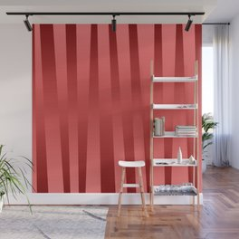 Red gradient Wall Mural