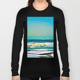 Lake Huron Winter Long Sleeve T-shirt
