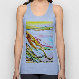 Color by the Sea Unisex Tank Top
