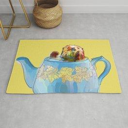 Otter Teapot Rug