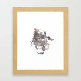 abstract watercolor 2 Framed Art Print