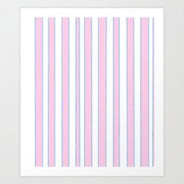 Strips 11-line,band,striped,zebra,tira,linea,rayas,rasguno,rayado. Art Print