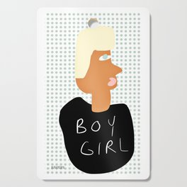 BOY GIRL, Vector Illustration, Home Decor, People, Gender, Living room Wall Cutting Board