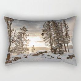 Lookout Point Overlook Rectangular Pillow