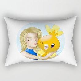 """""""Torchic"""" Rectangular Pillow"""