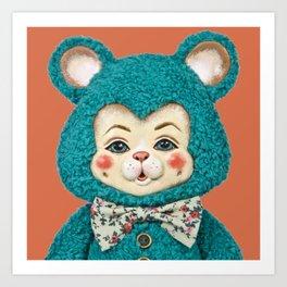 Bitsy the Bear Art Print