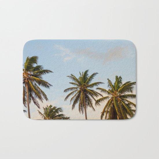 Chilling Palm Trees Bath Mat