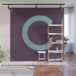 Letter C Wall Mural