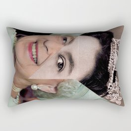 Queen Elizabeth II Rectangular Pillow