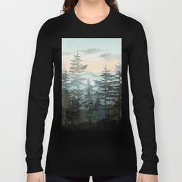 Pine Trees Long Sleeve T-shirt