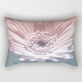 Pastel Gerbera Rectangular Pillow