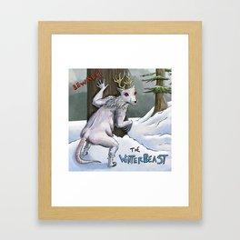The Winterbeast Framed Art Print