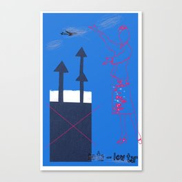 No ta to low tar! Canvas Print