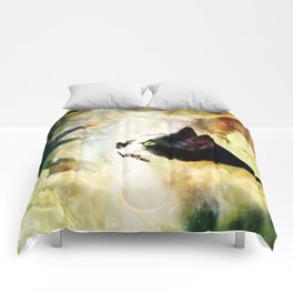 Gypsy Da Fleuky Cat and the Kitty Whisker Wishes Comforters