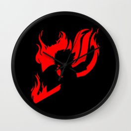 Son Of Fire Dragon Wall Clock