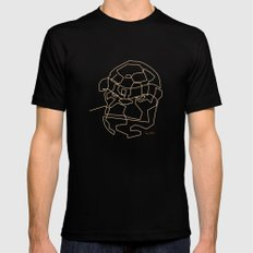 One Line The Thing Black SMALL Mens Fitted Tee