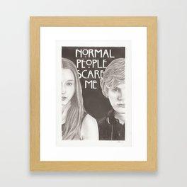 Violet & Tate Framed Art Print