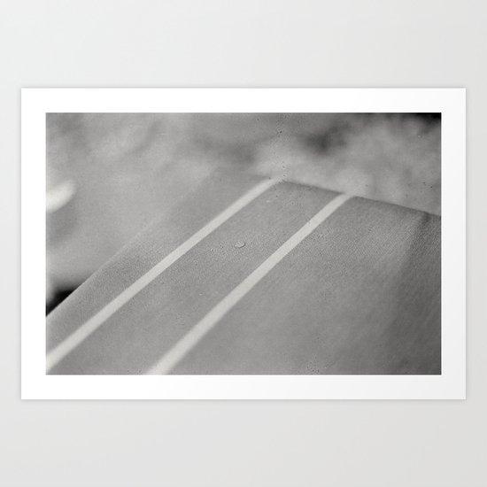 Rain Spot Art Print