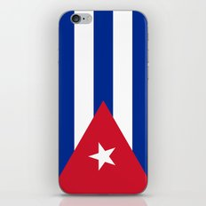National flag of Cuba - Authentic HQ version iPhone & iPod Skin
