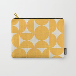 Circle Pattern - Yellow  Carry-All Pouch