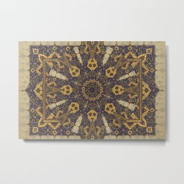 Mandala - The Night Bazaar Metal Print