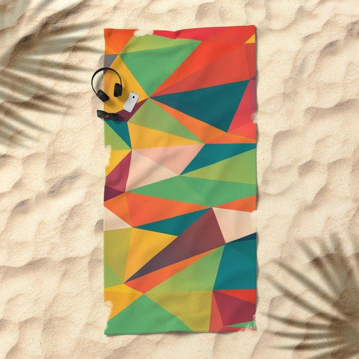 Geometric XIII Beach Towel