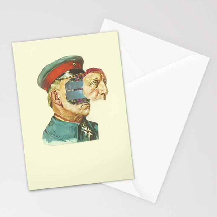 la Pantera Fuerte Stationery Cards